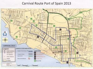 19 carnival route